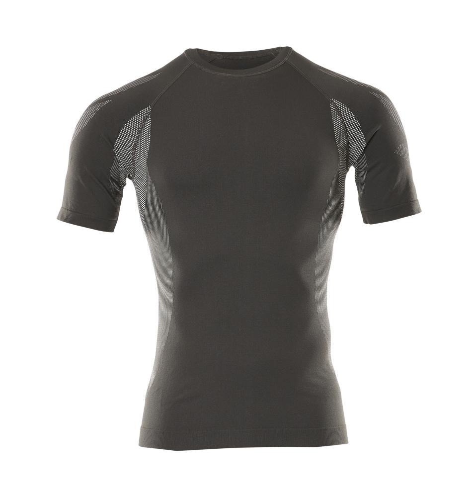 50185-870-18 Functional Under Shirt, short-sleeved - dark anthracite