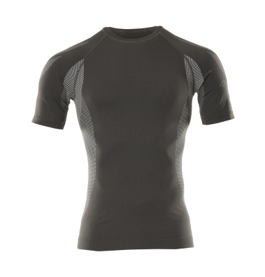 50185-870-18 Functional Under Shirt, short-sleeved - dark anthracite