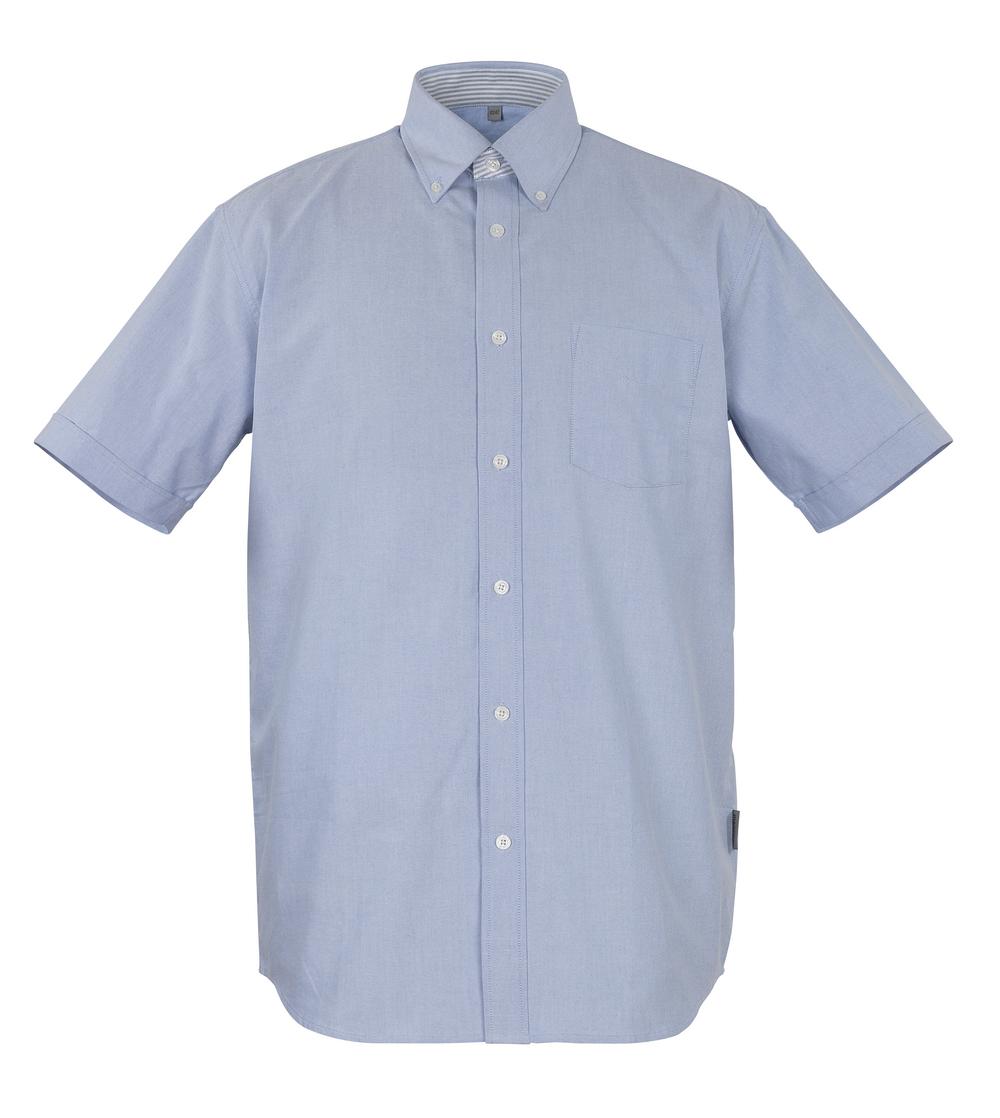 50377-887-B13 Shirt, short-sleeved - oxford blue