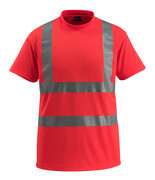 50592-976-222 T-shirt - hi-vis red