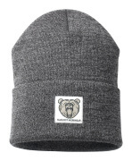 50603-974-18088 Knitted Hat - dark anthracite/light grey-flecked