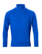 50611-971-11 Sweatshirt with half zip - royal