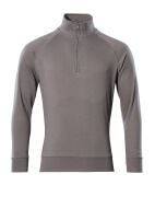 50611-971-888 Sweatshirt with half zip - anthracite
