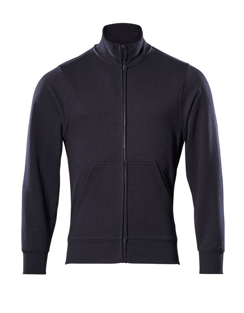 51591-970-010 Sweatshirt with zipper - dark navy
