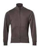 51591-970-18 Sweatshirt with zipper - dark anthracite