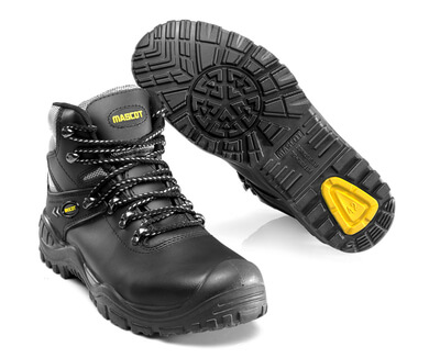 F0074-902-0907 Safety Boot - black/yellow