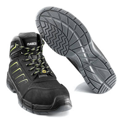 F0109-937-09 Safety Boot - black