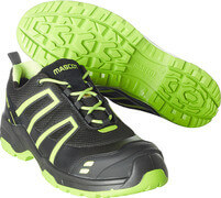 F0124-773-0917 Safety Shoe - black/high-visibility hi-vis yellow