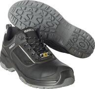 F0126-774-09880 Safety Shoe - Black/Silver