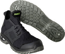 F0133-996-09 Safety Shoes (high) - black