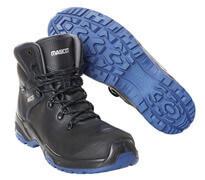 F0141-902-0901 Safety Boot - Black/royal