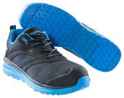F0250-909-0911 Safety Shoe - Black/royal