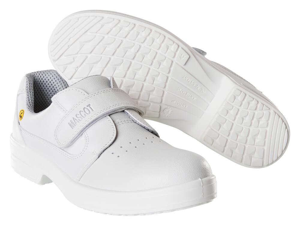 F0802-906-06 Safety Shoe - white